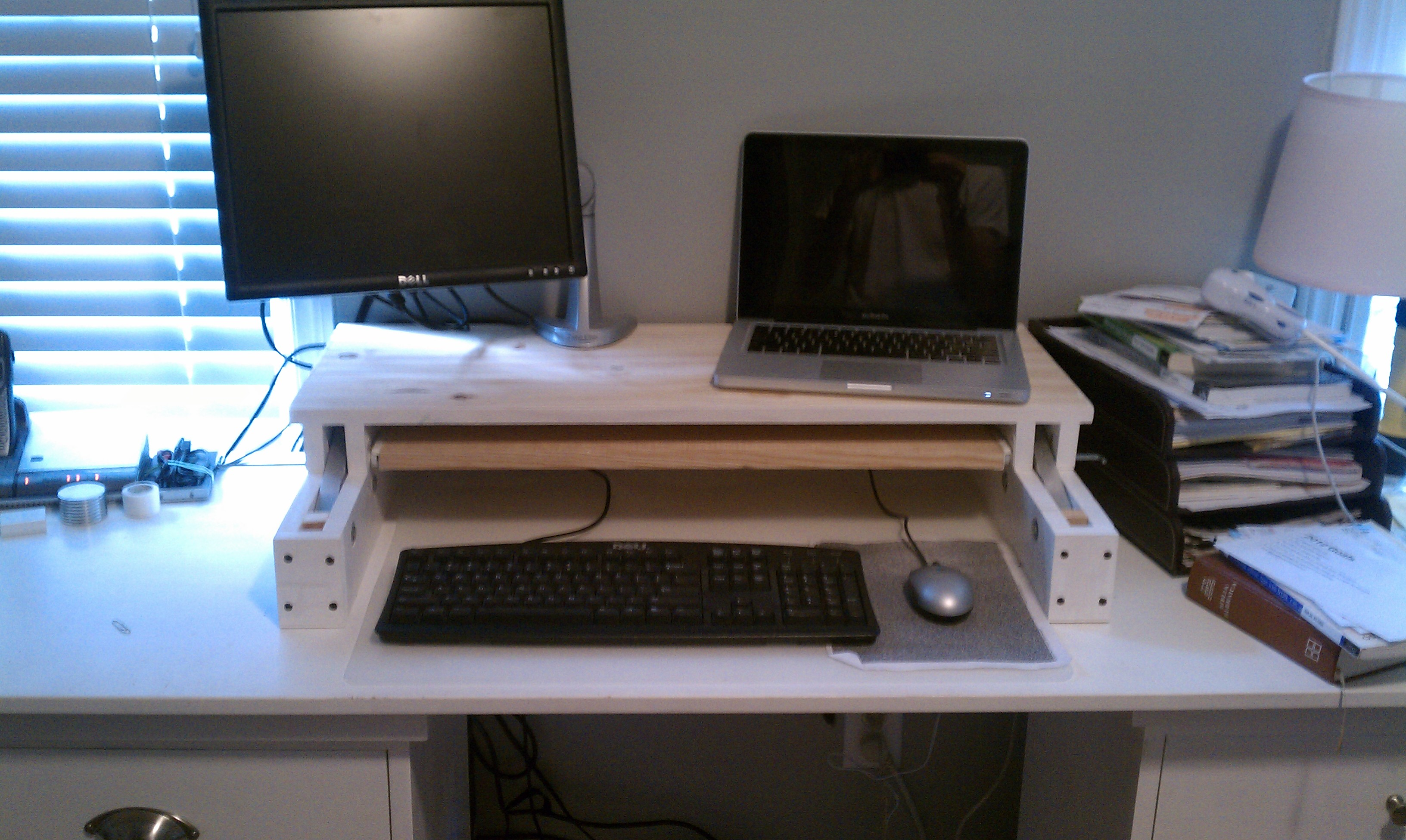 image pin stand desk a of adjustable pinterest furniture to how standing make desks