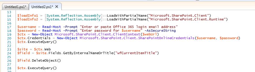Requested Value 'Text' was not found error using SharePoint Online