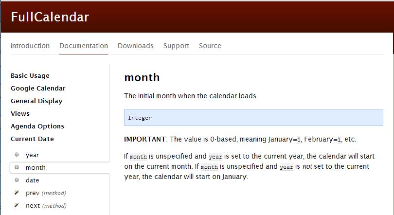 full-calendar fail
